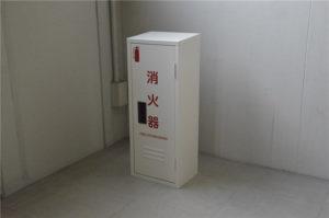南海工業株式会社,指定色塗装,消火器ボックス